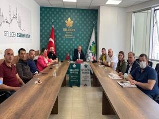 Başkan Karatay'dan Gazetecilere önemli açıklamalar