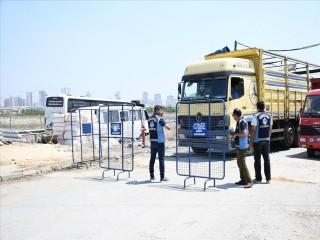 Esenyurt'ta Kurban satış alanı hazırlandı