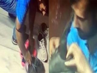 Pişkin Hırsız Esenyurt'ta apartmana girip beğendiği ayakkabıları çaldı