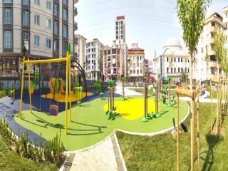 Akevler Mahallesi'ne yeni çocuk parkı kuruldu