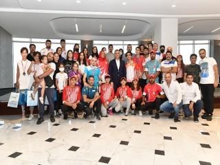 Başkan Bozkurt Esenyurt'un Şampiyonlarını ağırladı
