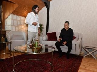 Başkan Bozkurt Termal Tesiste yapılan örnek odayı inceledi