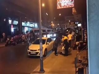 Esenyurt'ta trafik kazasında silahlar konuştu