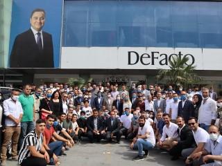 Esenyurt Deva Partisi'ne Ziyaret, Seçim Coşkusunu Aratmadı