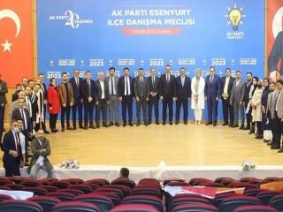 AK Parti Esenyurt Danışma Meclisi toplantısını gerçekleştirdi
