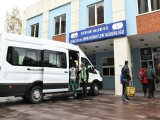 Esenyurt Belediyesi Spor İşleri Müdürlüğü Özel Çocukların yanında