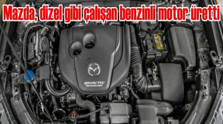 Mazda, dizel gibi çalışan benzinli motor üretti