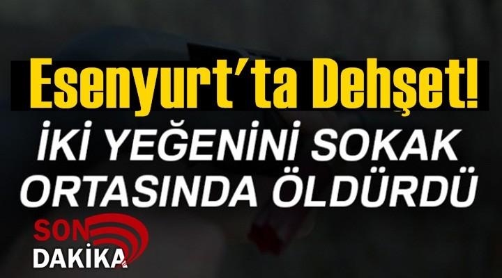 Esenyurt'ta silahlı saldırı: 2 ölü