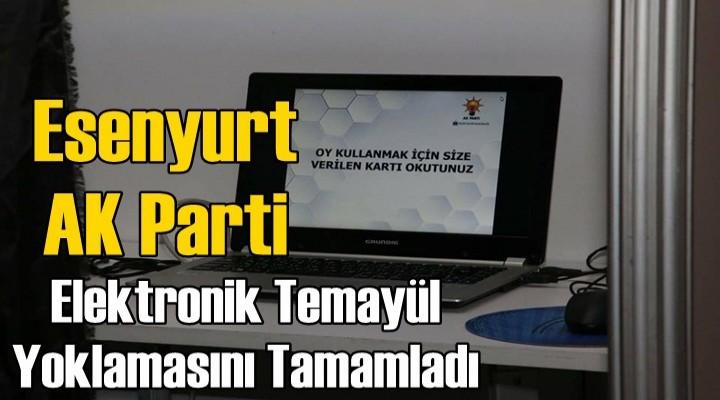 AK Parti'de elektronik temayül yoklaması