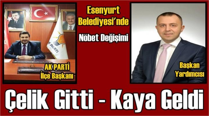 Esenyurt Belediyesi'nde Nöbet Değişimi