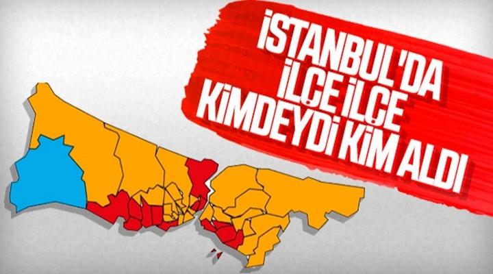 İstanbul'da dört ilçe el değiştirdi: İttifaklar iki ilçe aldı, iki ilçe verdi