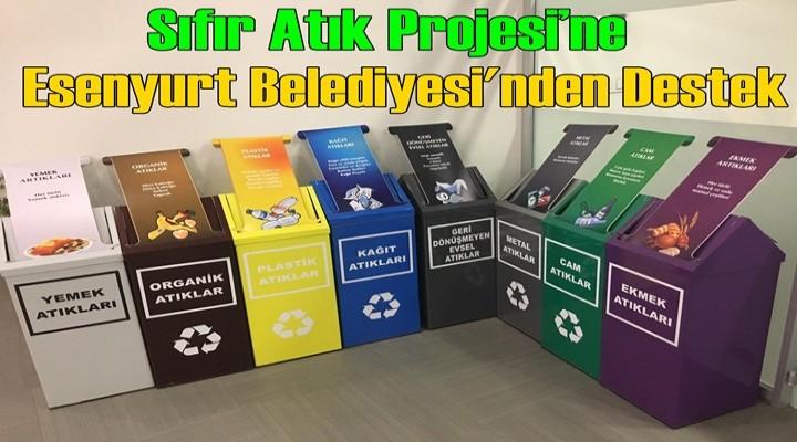 Sıfır Atık Projesi'ne Esenyurt Belediyesi'nden Destek