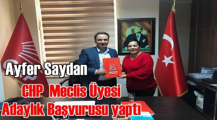 CHP'li Ayfer Saydan Esenyurt'tan Meclis Üyesi aday adayı oldu