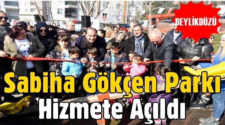 Beylikdüzü'nde Sabiha Gökçen Parkı Hizmete Açıldı