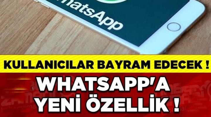 Mevcut konum özelliği WhatsApp'a geldi