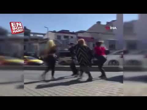 Esenyurt'ta 4 kadın bir adama saldırdı