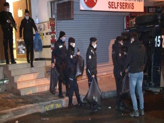 Esenyurt HDP ilçe binası operasyonu 6 saatlik arama sonrası sona erdi