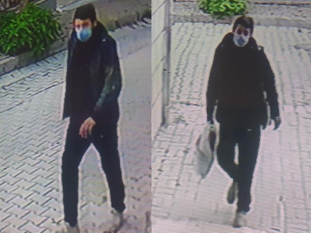 Avcılar'da musluk hırsızı kameraya böyle yakalandı