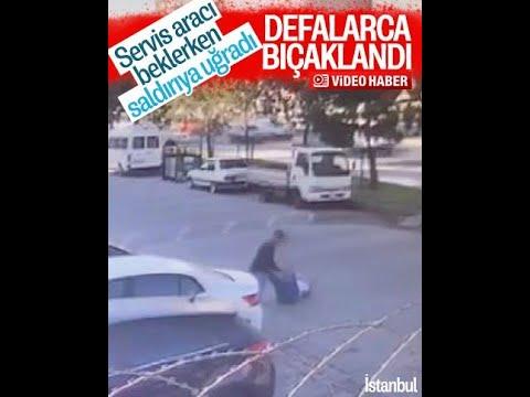 Esenyurt'ta Servis Aracını Beklerken Saldırıya Uğradı